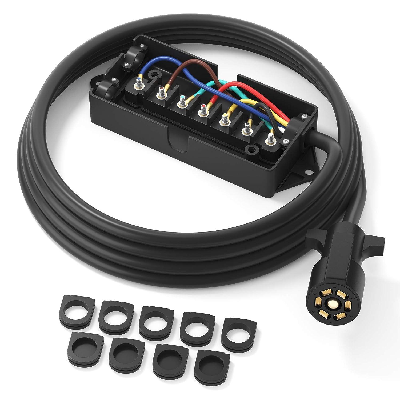 Trailer Plug Wiring On Load Trail Trailer Wiring Plug Diagram Rv Plug