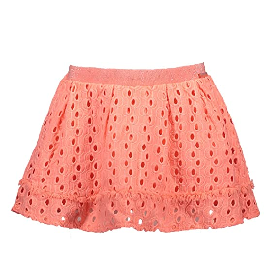 NoNo - Falda - trapecio - para niña naranja fruity orange: Amazon ...