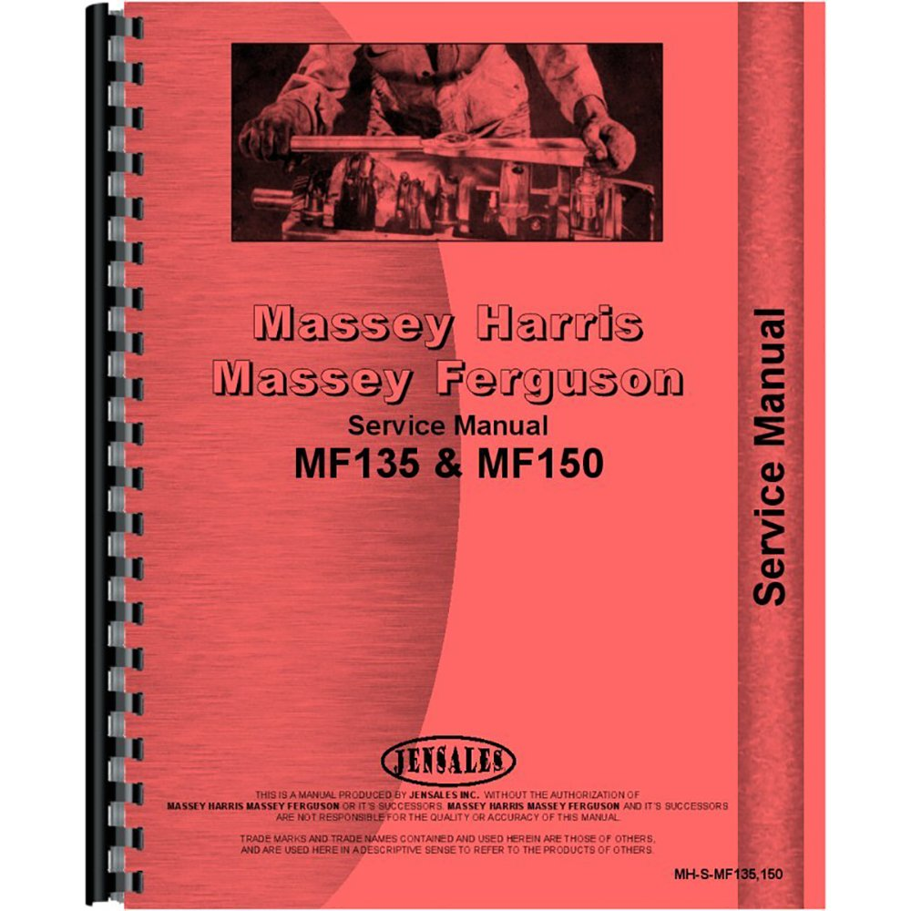 Amazon.com: Service Manual For Massey Ferguson 135 (1964-1975) (Gas and  Diesel ): Industrial & Scientific