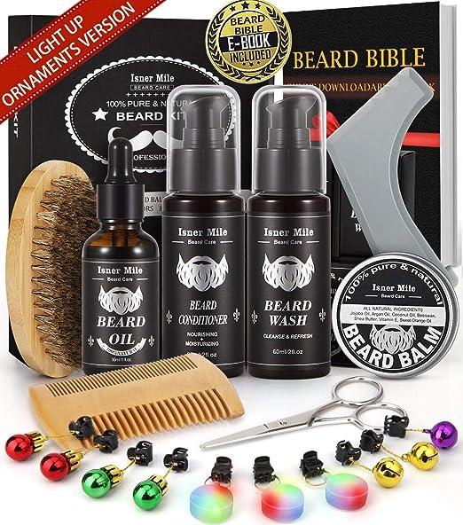 Amazon.com: Champú y acondicionador para barba, aceite ...