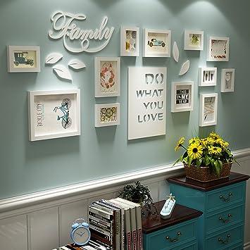 Bilderrahmen Collage Brief pastoralen schlafzimmer wohnzimmer massivholz  kreative kreative foto wand ornament rahmen wand Fotorahmenwand ( Farbe :  All ...