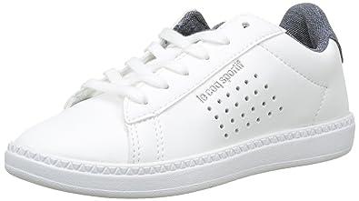 f46a683bf4b Le Coq Sportif Courtset GS Craft Optical White Dress BL Baskets Garçons