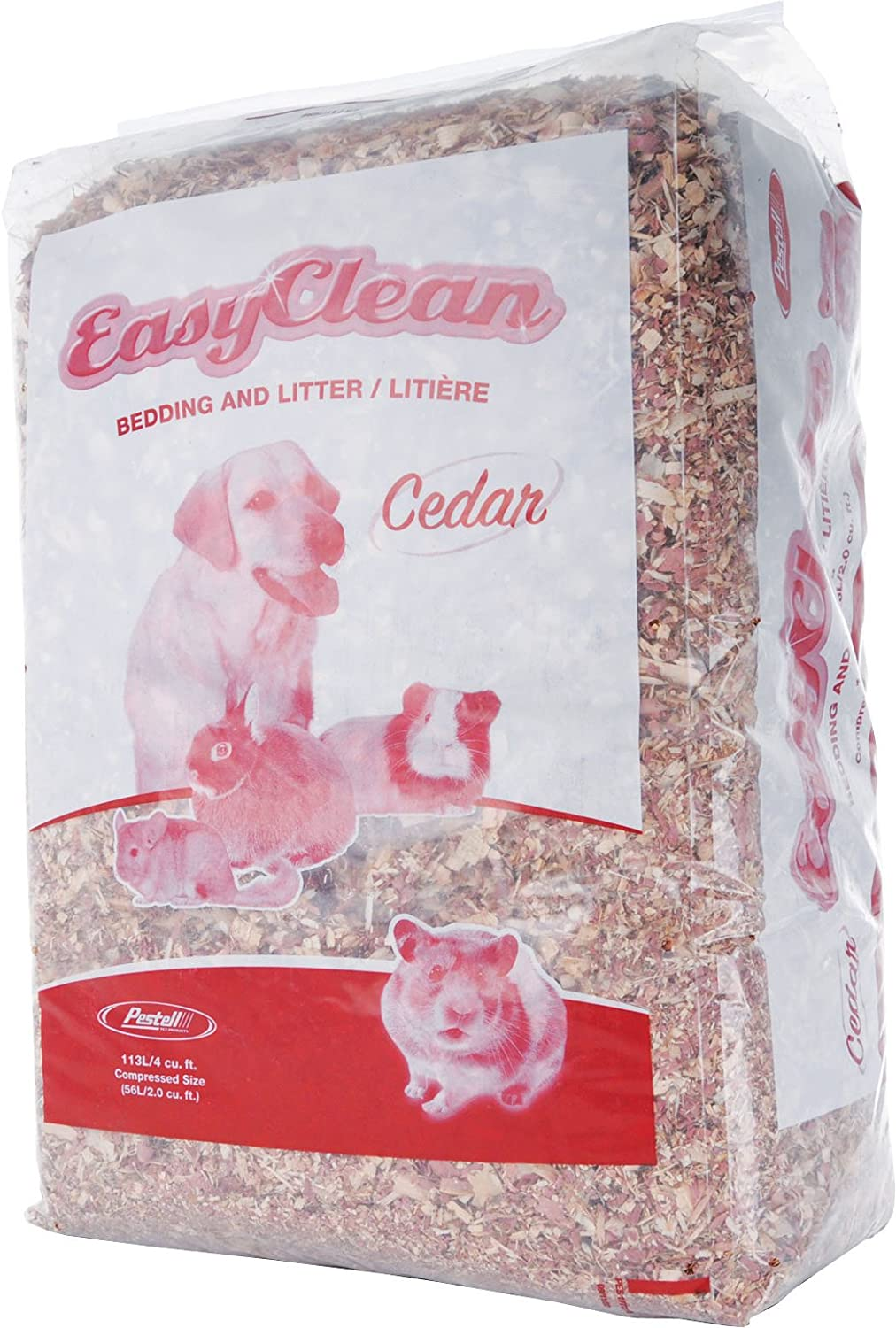 Pestell Pet Products Easy Clean Cedar Bedding 113 liters