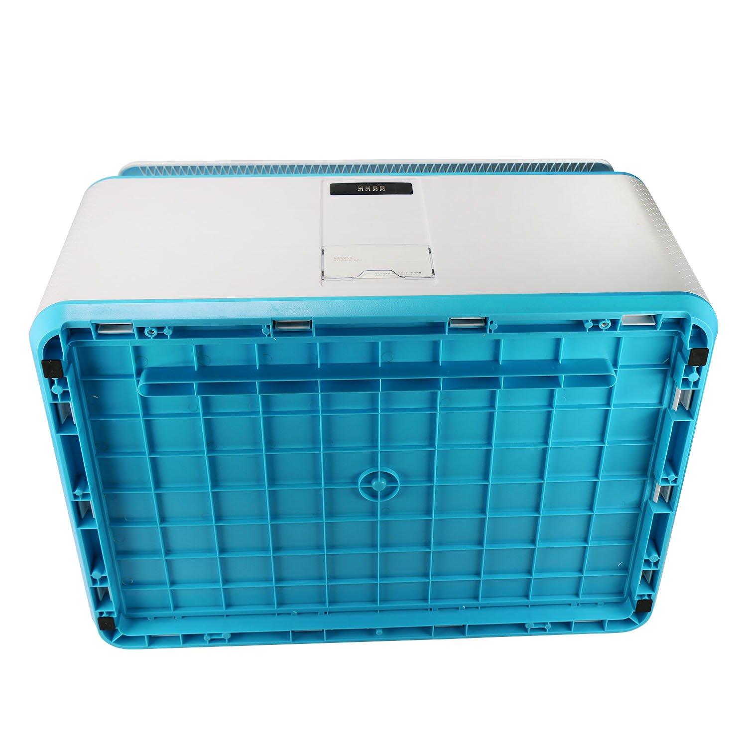 EVERTOP Extra Large Deck Box for Home, Office, Car, White with Code Lock (A-Green) by EVERTOP (Image #6)