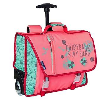 qualité et quantité assurées modèles à la mode grande remise Cartable a roulettes Fille 38 cm Rose Bodypack