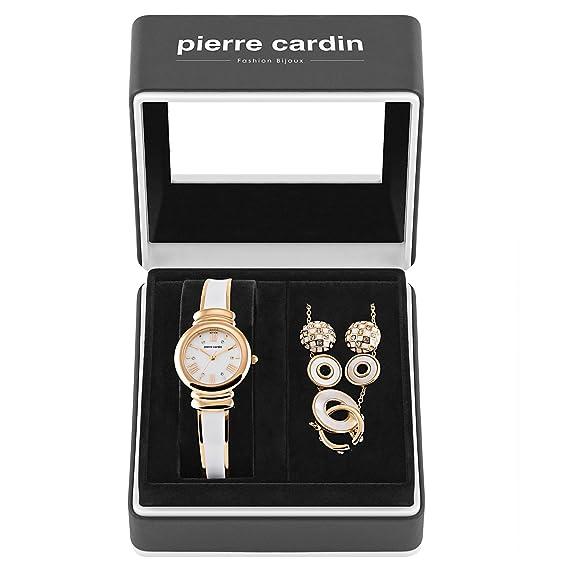 Pierre Cardin Conjunto de Relojes y Joyas para Mujer