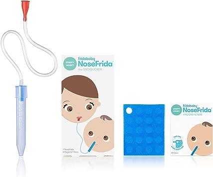 Nosefrida bebé aspirador nasal con filtros: Amazon.es: Salud y cuidado personal