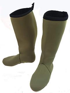 Snowbee Fleece Lined Neoprene Socks in 4 Sizes Small to X-Large