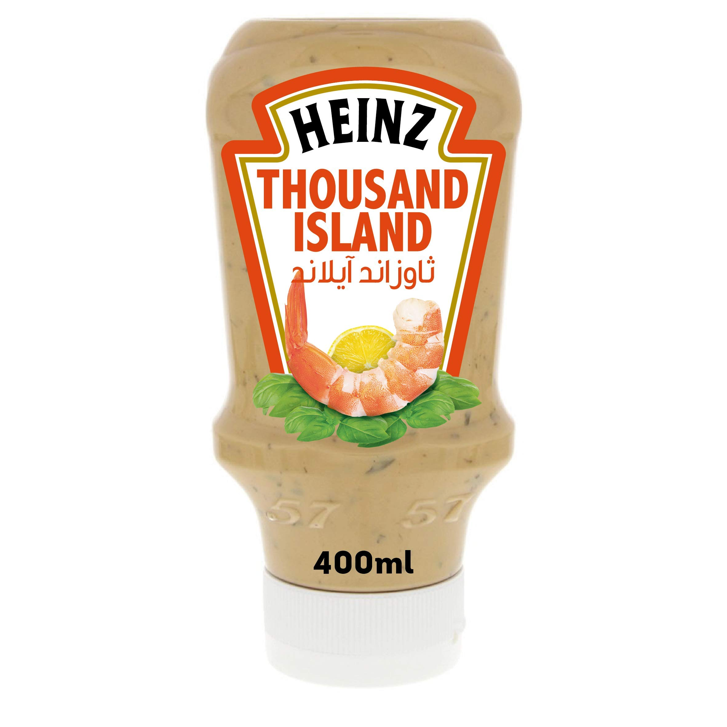 Heinz Thousand Island Dressing, Top Down Sqeezy Bottle, 400ml