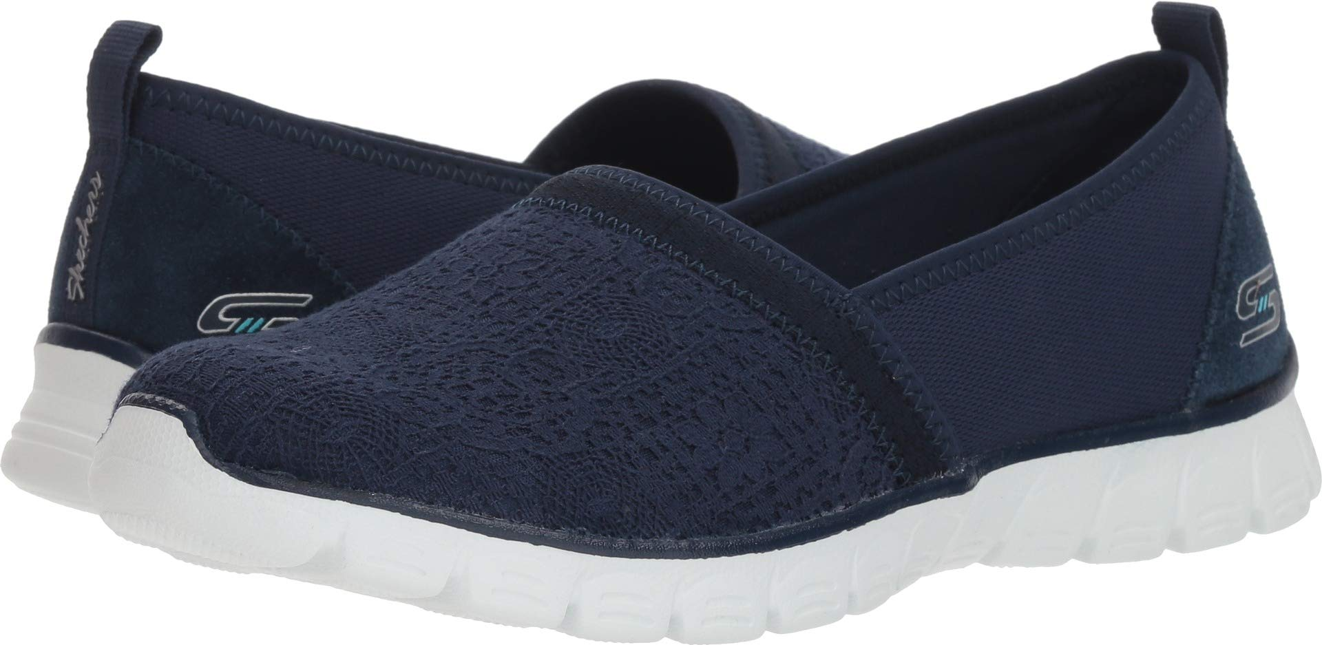 Skechers EZ Flex 3.0 Quick Escapade Womens Slip On Sneakers Navy 10