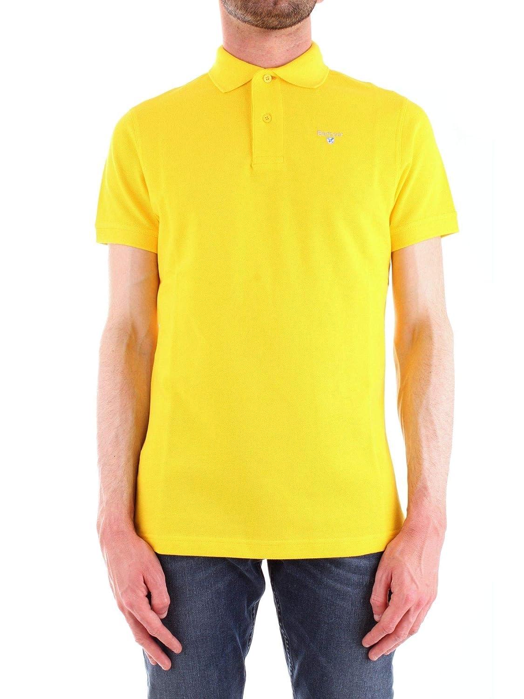 Barbour BAPOL0174YELLOW - Polo para Hombre (algodón), Color ...