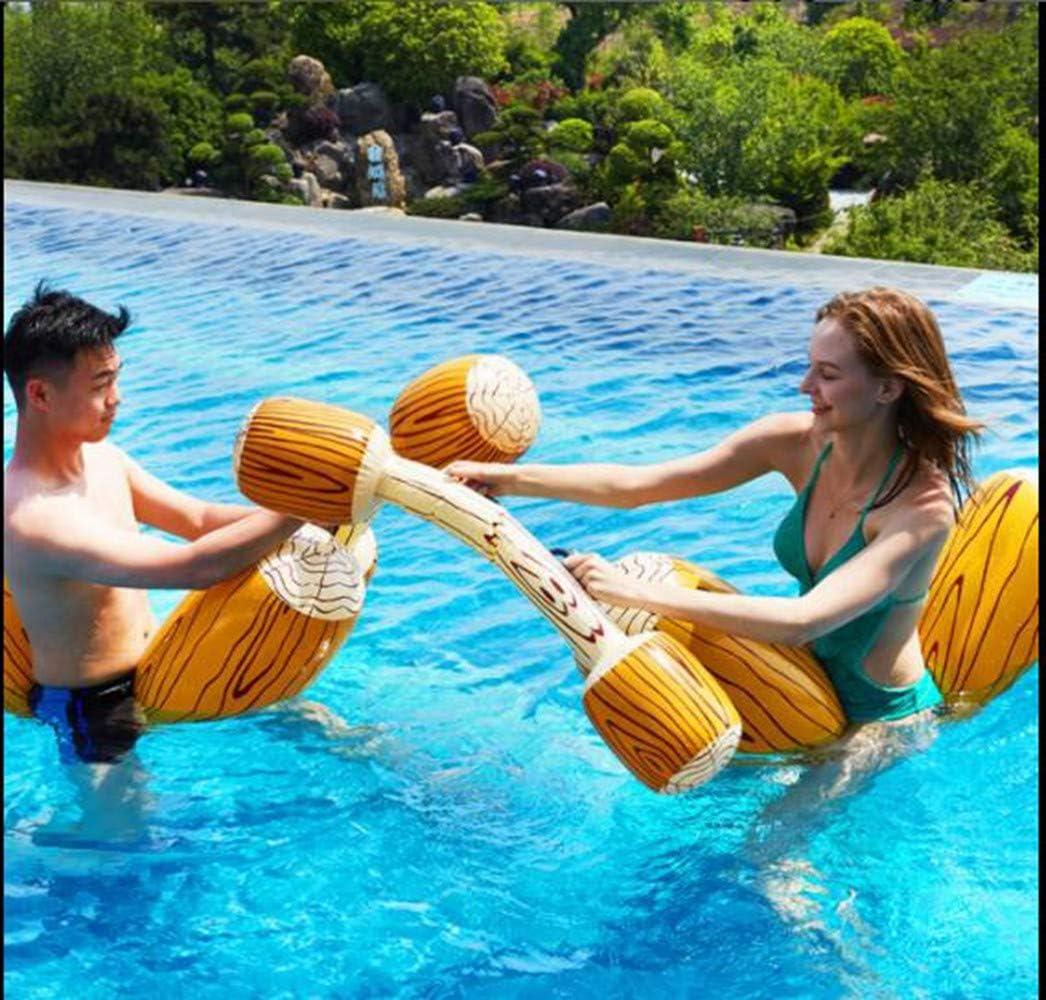 STRTT Flotador Inflable de Piscina,Canoa Hinchable Inflable Fila Flotante Juguetes,Juegos de Deportes Acuáticos Adecuado para la Playa Piscina Fiesta Parque acuático