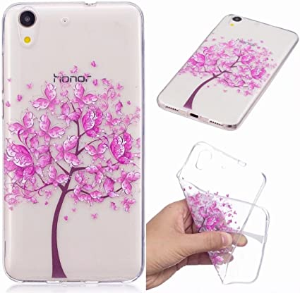Lovery Cat Print Ultra Thin Clear Transparent Cover Soft TPU Silicone Skin Bumper Lightweight Rubber Protective Crystal Slim Fit Back Rear Yiizy Case Cover for Huawei P8 Lite//ALE-L21 Cover Case