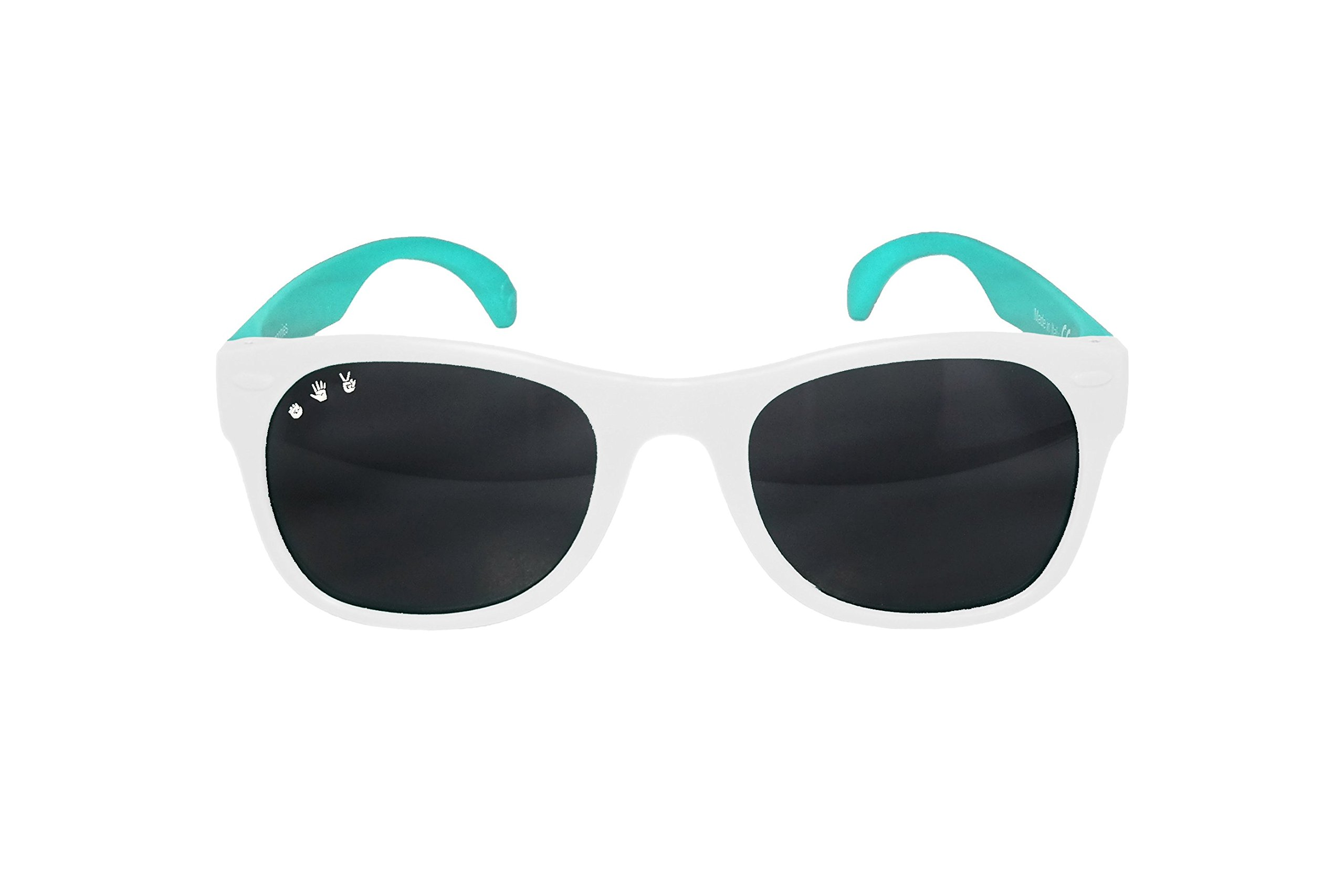 Roshambo Junior Shades, 90210 (Teal/White) by Roshambo Baby (Image #4)