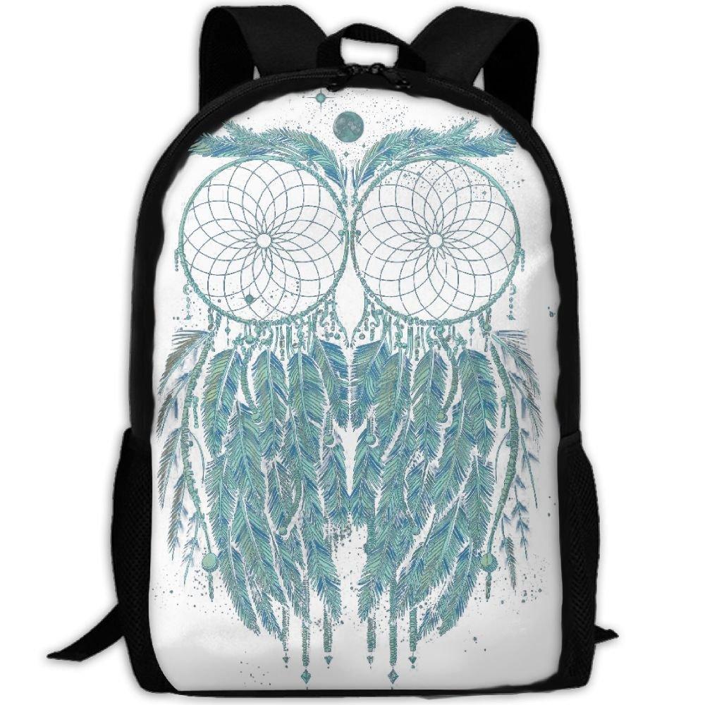 Owl Luxury Print Men And Women's Travel Knapsack hot sale