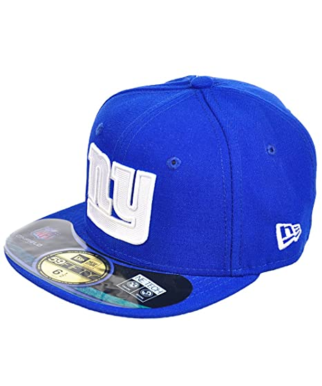 Amazon.com   NFL Child New York Giants On Field 5950 Royal Blue Game Cap By  New Era   Sports Fan Baseball Caps   Clothing 583b478cc2f