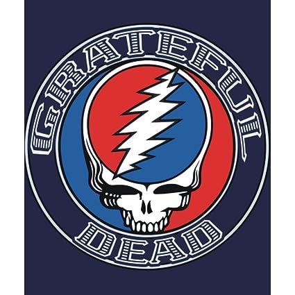 Amazon Grateful Dead SYF Logo Fleece Throw Blanket 40x40 Home Custom Grateful Dead Throw Blanket