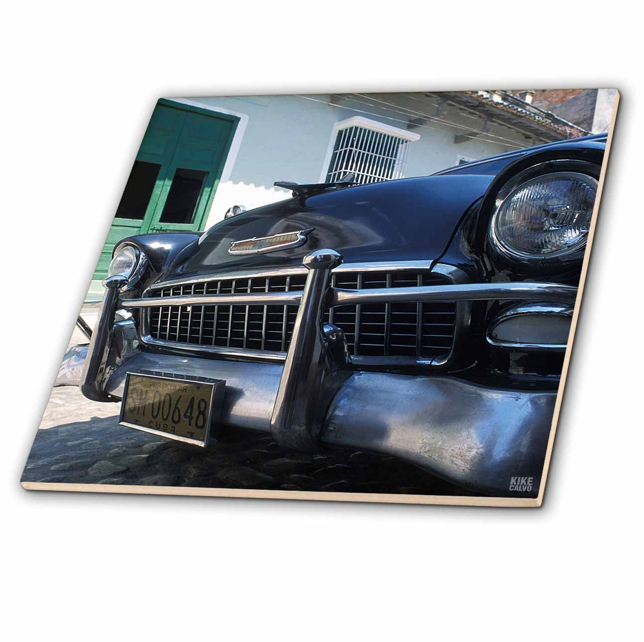 6-Inch 3dRose ct/_37743/_2 Old Car Havana Cuba Ceramic Tile