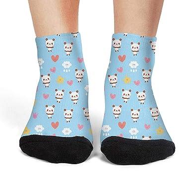931f1df8269e Baby panda bears flowers clouds Womens socks crew socks at Amazon Women's  Clothing store: