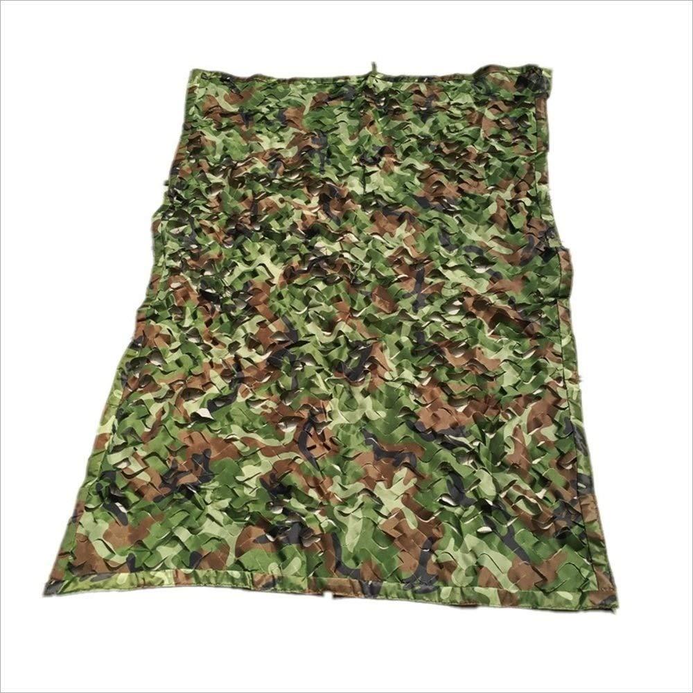 Camouflage Net Camo Netting Oxford Tessuto Shooting Hide Army per Giardino, Fiori, Piante, Serra Barn, Balcone, Auto, Tetto, Patio Esterno (Dimensione   3x3m)