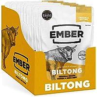 Ember Biltong - Beef Jerky - Eiwitrijke Snack - Original (10 stuks)