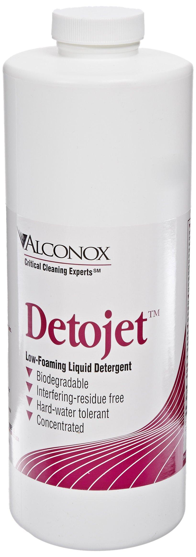 Alconox 1632 Detojet Low Foaming Liquid Detergent, 1 qt Bottle (Case of 12)