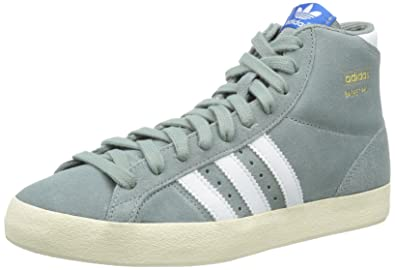 huge discount 772f3 ca60b adidas Mens Basket Profi High Tops 13 UK