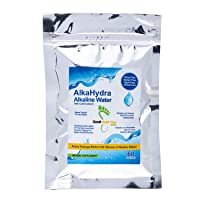 AlkaHydra Alkaline Water with Coral Calcium – 60 Sachets - 960 Glasses