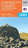 Ordnance Survey Explorer 200 Llandrindod Wells & Elan Valley & Rhayader Map With Digital Version