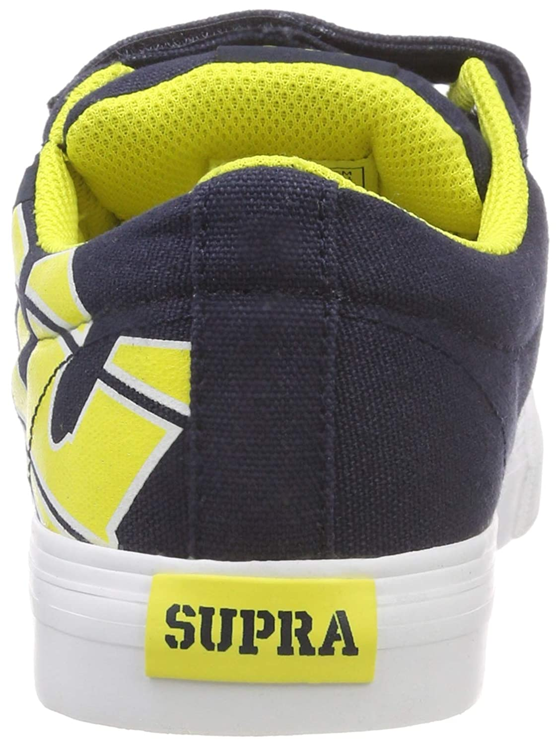 Little Kid//Big Kid Supra Kids Boys Stacks Vulc II Hook /& Loop