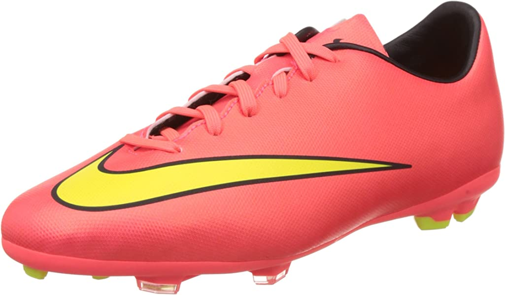 info for 3afeb b80df Nike Jr Mercurial Victory V FG, Chaussures de Football Mixte Enfant, Rouge ( Hyper