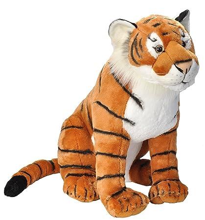 Amazon Com Wild Republic Tiger Stuffed Animal Plush Toy Gifts For