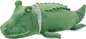 Livheart Cool Nemu Nemu Animals 2018 Summer Aligator Packun Body Pillow with Cooling Effect (M) 58017-53