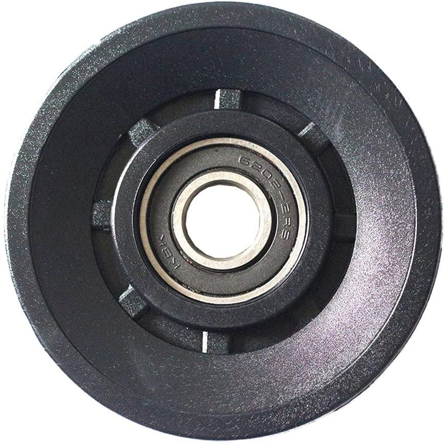 GCDN 3inches //90mm Universal Nylon Bearing Pulley Wheel Cable Gym Fitness Equipment Part