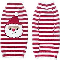 THEE Ropa para Mascotas Navidad Disfraz de Punto