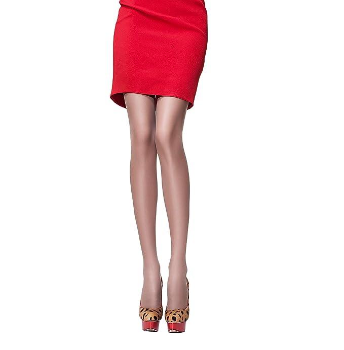 Womens Pantyhose Silver Nylon Stockings Anti-Odor Anti-Microbial Panty Hose