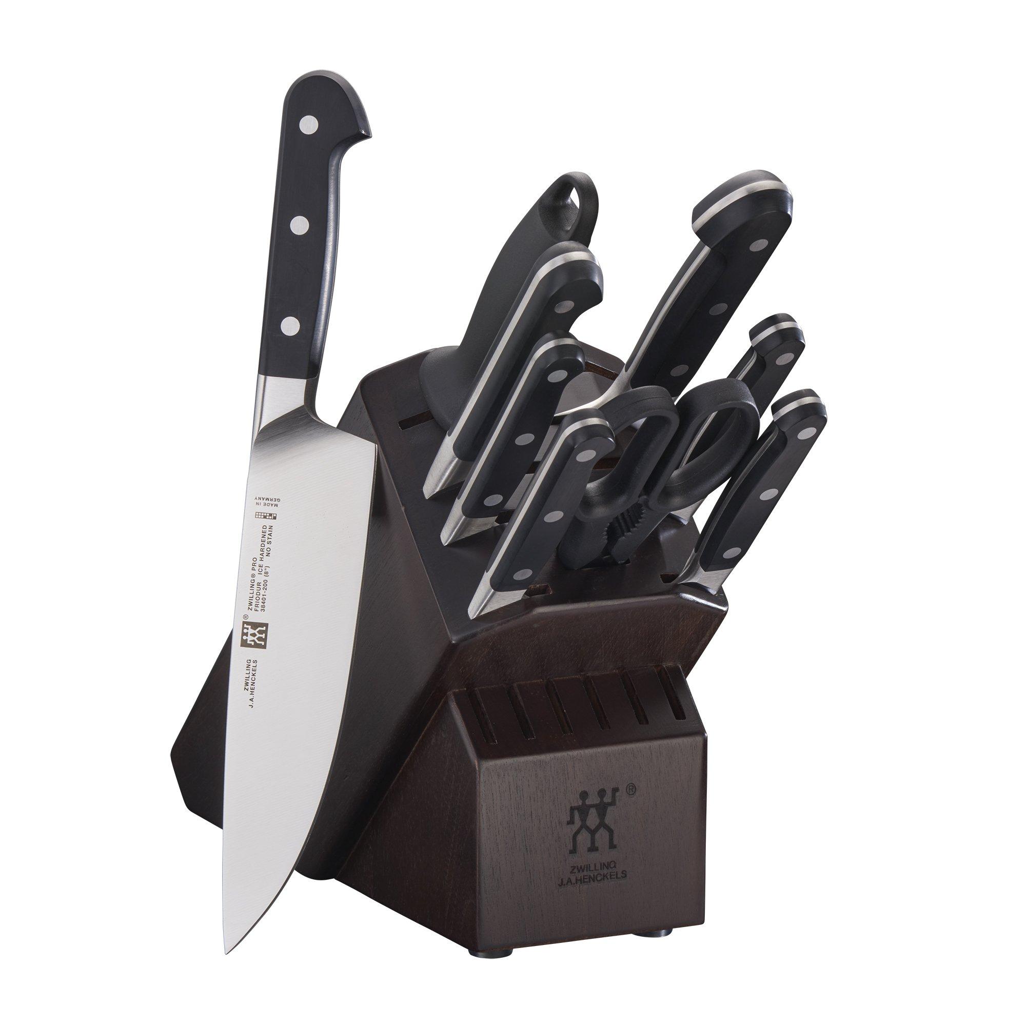 ZWILLING Pro 10-pc Knife Block Set - Walnut by ZWILLING J.A. Henckels (Image #1)