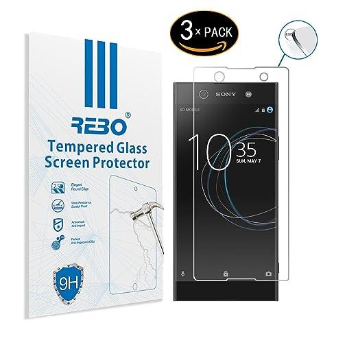 2 opinioni per Sony Xperia XA1 Ultra Pellicola vetro temperato- RE3O® 3 x Pellicola protettiva