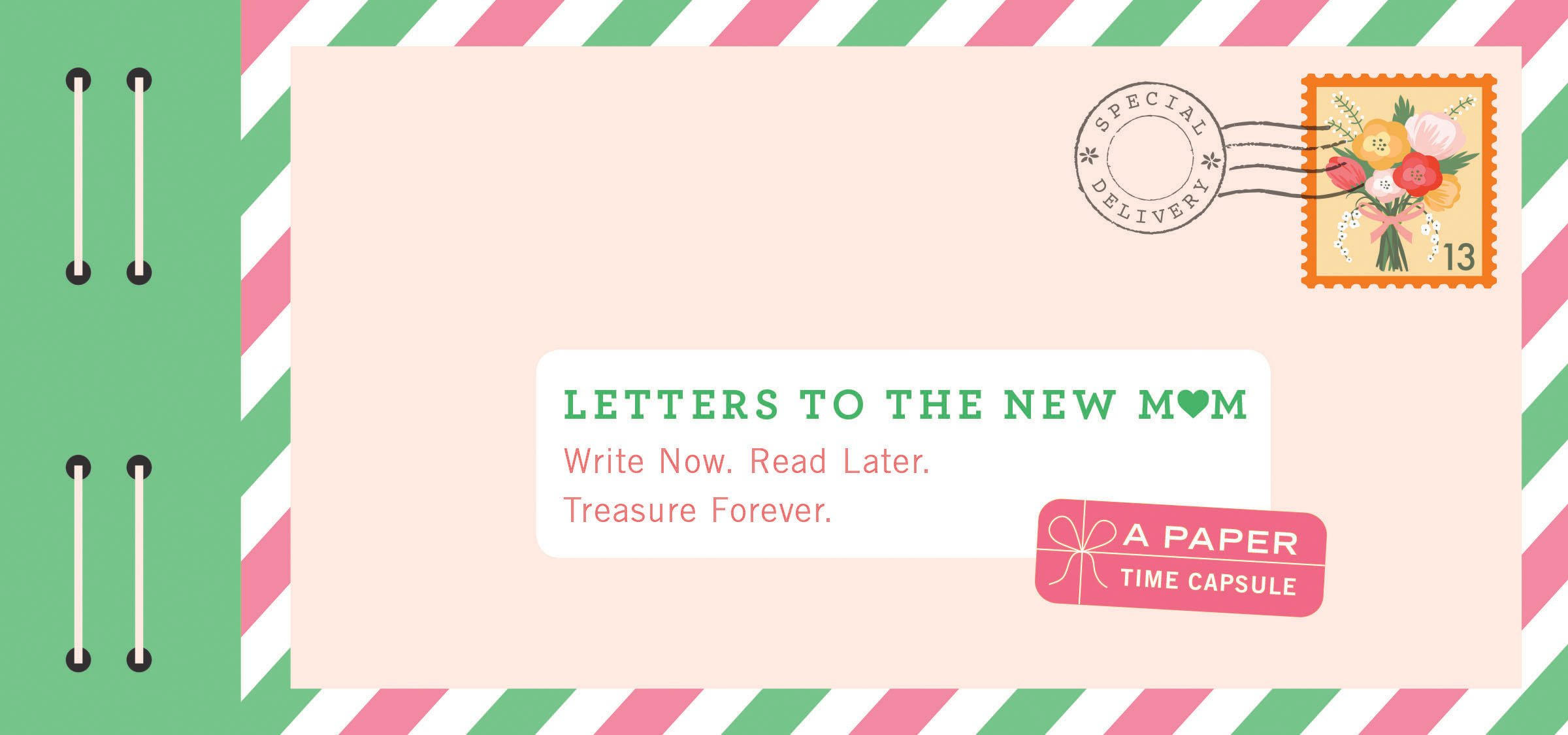 Letters To The New Mom Write Now Read Later Treasure Forever
