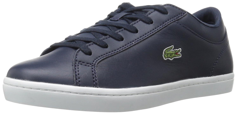 Lacoste Women's Straightset Sneaker B01LWOOX1O 5 M US|Navy
