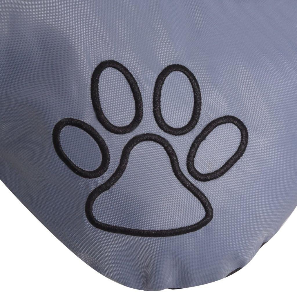 vidaXL Materasso Cuccia Cuscino Morbido Lettino per Cani Cane Taglia L Marrone