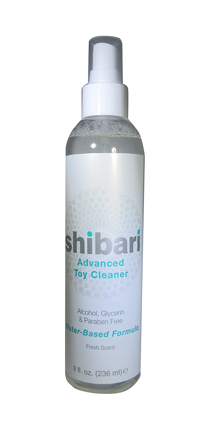 Shibari Advanced Antibacterial Toy Cleaner, 8oz Spray Bottle