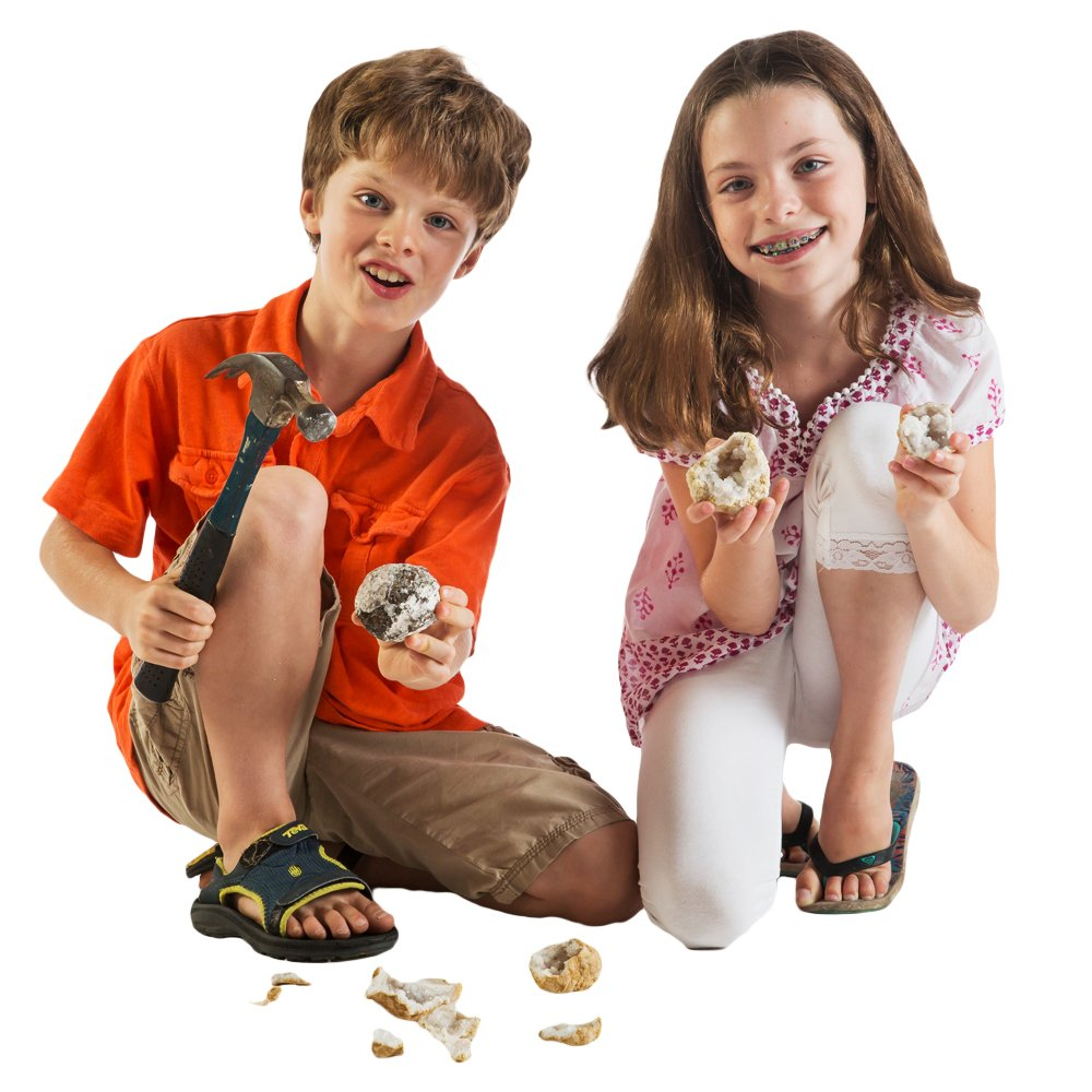 Worlds Best Geode Kit  Crack Open 15 Rocks and Find Crystals! by Discover with Dr. Cool (Image #7)