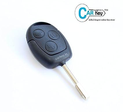 Carkey Ford Figo Fiesta 3 Button Replacement Remote Key Shell