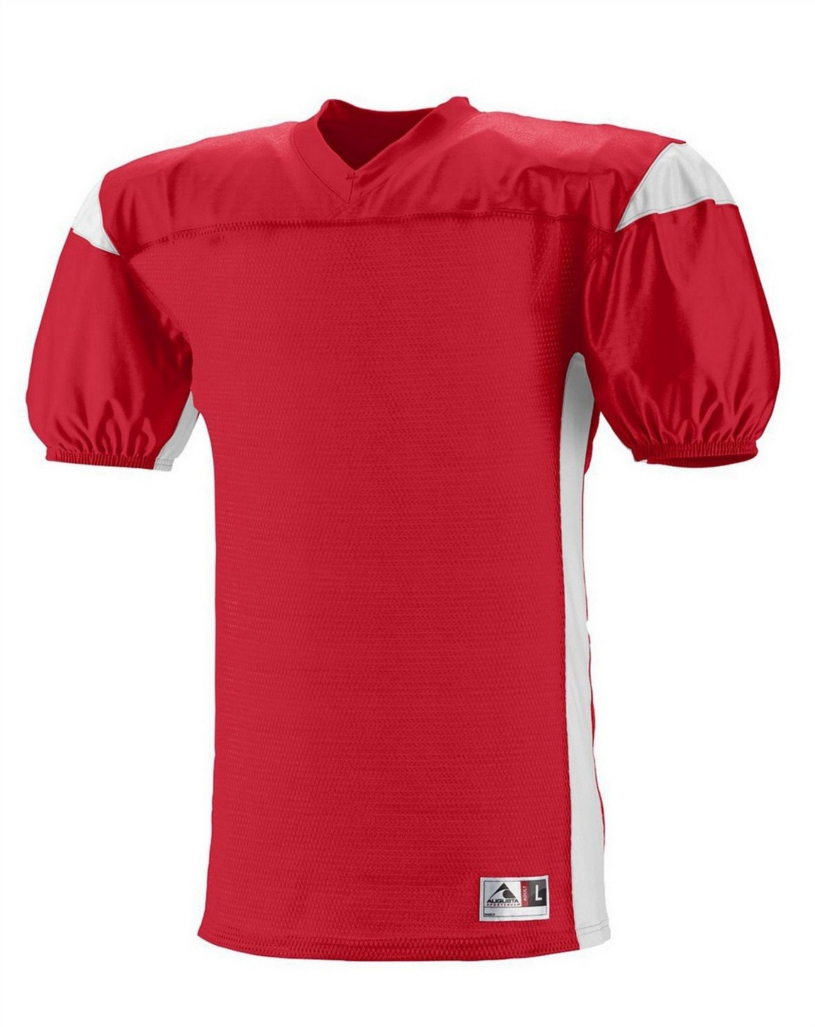9521 AG YTH DOMINATOR MESH JERSEY RED/ WHITE S