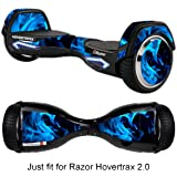 Skin for Self-Balancing Electric Scooter - Sticker for Skate Hover Board - Decal for Self Balance Mobility Longboard - Smart Protective Cover Vinyl Case for 2 Wheel Scoote BoardFit for 2.0