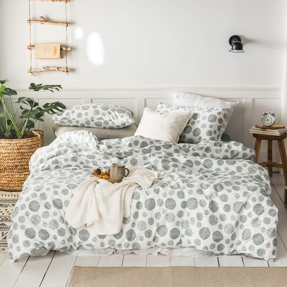 Amazon.com: MKXI Green Bohemian Queen Bedding Set ...