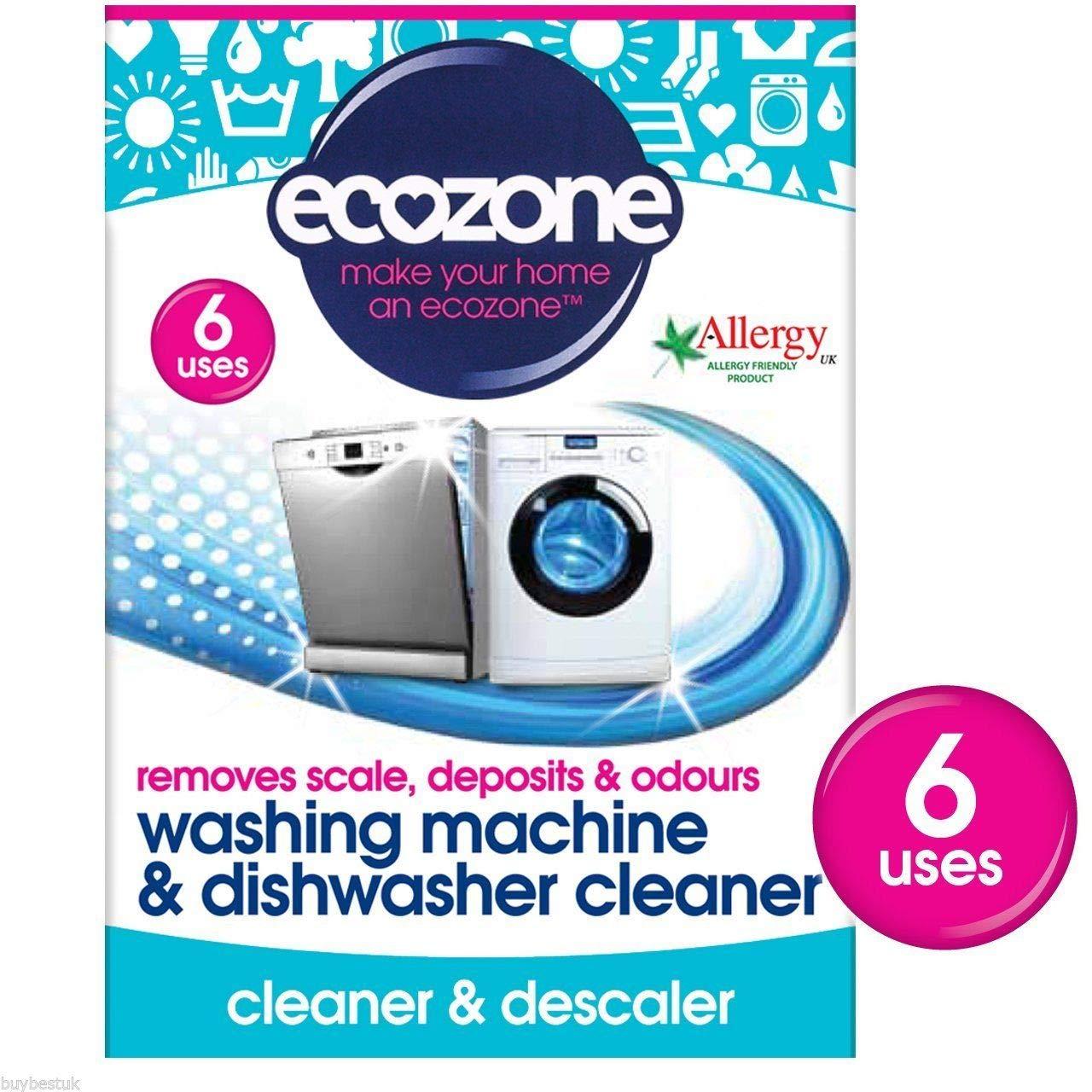 Ecozone   Machine Cleaner   4 x 135g