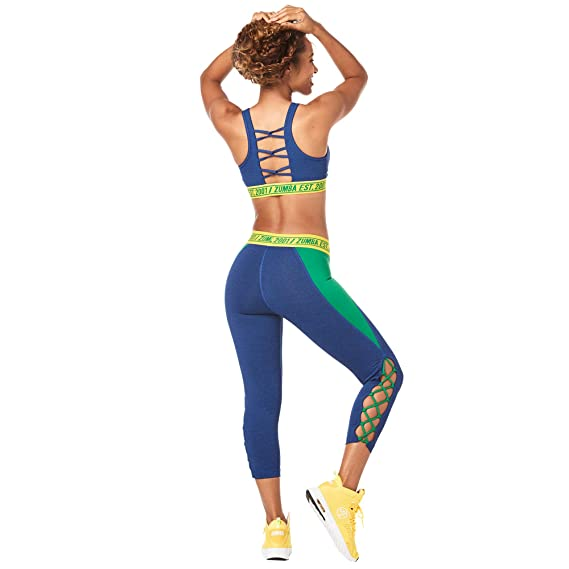 Zumba Z1T01354 Sports Bra, Night Sky 0, XL Womens: Amazon.es ...
