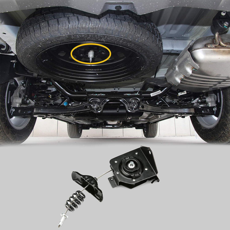 Spare Tire Hoist Spare Tire Winch Carrier Hoist Compatible with 1999-2019 GMC Yukon XL Sierra 1500 2500 3500 Chevrolet Tahoe Suburban 1500 2500 Silverado 1500 2500 3500 HD 924-510 20870067 15703311: Automotive